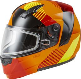 Gmax MD-04S Modular Reserve Snow Helmet Neon Orange Hi-Vis