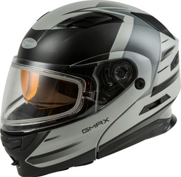 Gmax MD-01S Modular Snow Helmet Descendant Matte Gry Silver