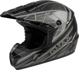 Gmax MX-46 OFF-Road Mega Helmet Matte Black Grey