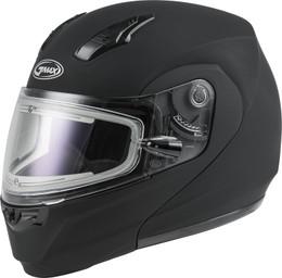 Gmax MD-04S Modular Snow Helmet W Electric Shield Matte Blk
