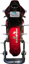 Psr Powerstands Tire Warmers Red - TW-SBK-RED