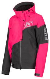 Klim Alpine Womens Jacket Knockout Pink Asphalt