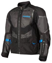 Klim Baja S4 Jacket Black Kinetik Blue