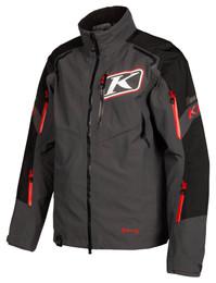 Klim Valdez Jacket Asphalt High Risk Red