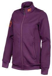 Klim Sundance Womens Jacket Deep Purple Strike Orange