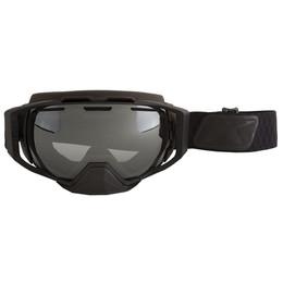 Klim Oculus Goggle Diamond Fade Black Smoke Silver Mirror and Lt Yellow Tint