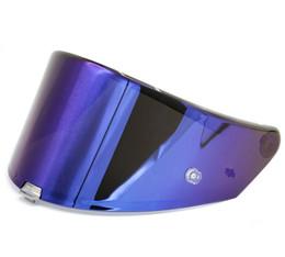 Suomy SR-GP Face Shield Visor Blue Iridium