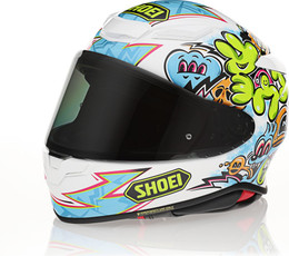Shoei RF-1400 Mural TC-10 Helmet