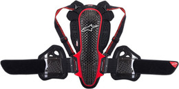 Alpinestars Nucleon KR-3 Black Red Armor