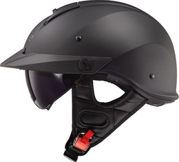 LS2 Rebellion Solid Matte Black Helmet