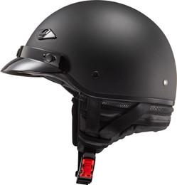 LS2 Bagger Solid Matte Black Helmet