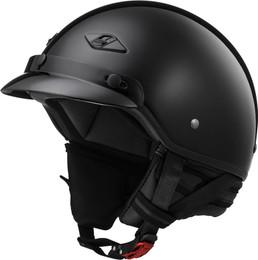 LS2 Bagger Solid Gloss Black Helmet