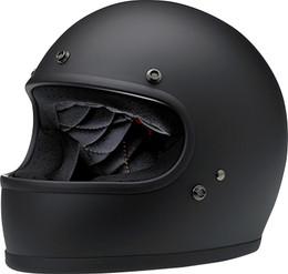Biltwell Gringo Flat Black Helmet