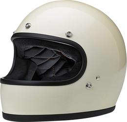 Biltwell Gringo Gloss Vintage White Helmet