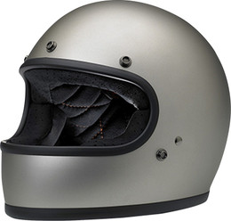 Biltwell Gringo Flat Titanium Helmet