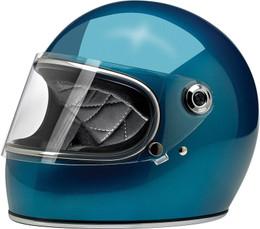 Biltwell Gringo S Gloss Pacific Blue Helmet