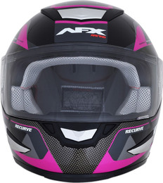 AFX FX-99 Black Fuchsia Recurve Helmet