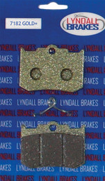 LYNDALL BRAKES GOLD PLUS BRAKE PADS (7182 GOLD+)