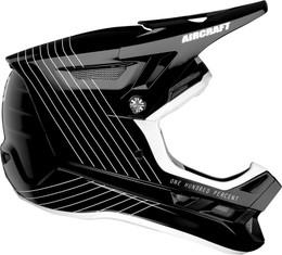 100% Aircraft Silo Black Helmet