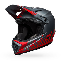 Bell Moto-9 Youth MIPS Louver Matte Red Gray Helmet