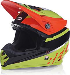 Bell Moto-9 MIPS Prophecy Gloss Yellow Orange Black Helmet