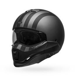 Bell Broozer Free Ride Matte Gray Black Helmet