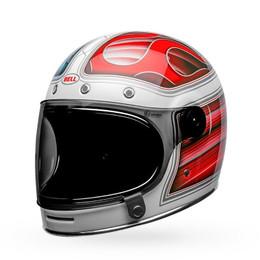Bell Bullitt SE Barracuda Gloss White Red Blue Helmet