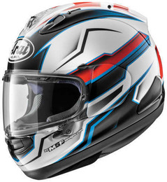 Arai Corsair-X Scope Black White Helmet