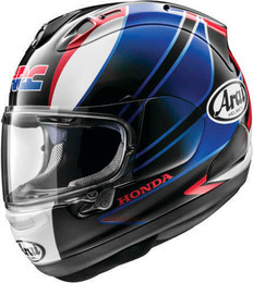 Arai Corsair-X CBR Black Blue Helmet