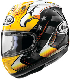Arai Corsair-X KR-2 2020 Yellow Helmet