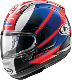 Arai Corsair-X CBR Red Blue Helmet