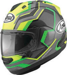 Arai Corsair-X RSW Fluorescent Yellow Helmet