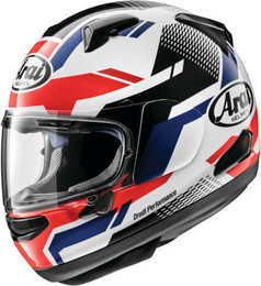 Arai Quantum-X Cliff Red White Helmet