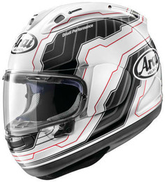 Arai Corsair-X Mamola Edge Red Helmet