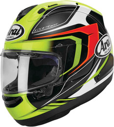 Arai Corsair-X Bracket Fluorescent Yellow Helmet
