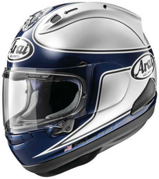 Arai Corsair-X Spencer 40th Silver Helmet
