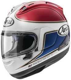 Arai Corsair-X Spencer 40th Red Helmet