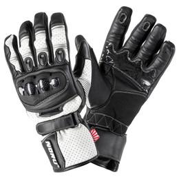 NORU Sokudo White Black Gun Metal Glove