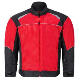 NORU Kuki Red Black Mesh Jacket