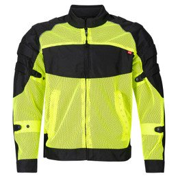 NORU Kaze Fluorescent Black Full Mesh Jacket
