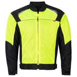 NORU Kuki Fluorescent Black Mesh Jacket
