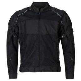 NORU Kaze Black Full Mesh Jacket
