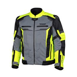 Cortech Hyper-Flo Air Hi-Viz Gray Jacket