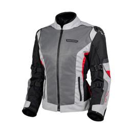 Cortech Hyper-Flo Air Red Gray Jacket