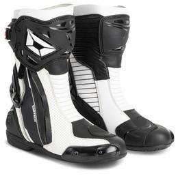 Cortech Adrenaline GP White Boots
