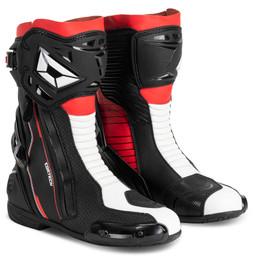 Cortech Adrenaline GP Flourescent Red Boots