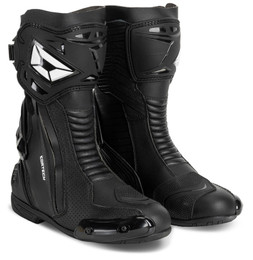 Cortech Adrenaline GP Black Boots