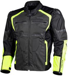 Cortech Hyper-Tec Hi-Viz Gunmetal Jacket