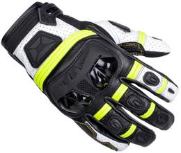 Cortech Chicane V1 ST Hi-Viz Black Gloves