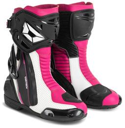 Cortech Adrenaline Gp Rubine Womens Boots